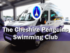 Cheshire Penguins Swimming Club Minibus