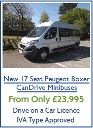 Book A Peugeot Minibus Demonstration