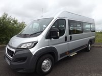 Peugeot Boxer CanDrive Maxi 17 Seat Minibus with 4 Removable Seats For Sale