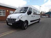 Brand New White CanDrive Light 17 Seat Renault Master 3.5ton School Minibus For Sale