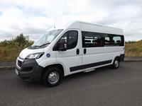 CanDrive Flexi 17 Seat Peugeot Boxer School Minibus for Purchase or Lease