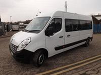 New 17 Seater CanDrive Flexi Renault Master School Minibus For Leasing in Silver