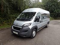 CanDrive EasyOn 17 Seat 2 Wheelchair Peugeot Boxer Minibus