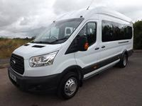 Ford Transit 17 Seat School Minibus in White or Metallic Silver For Sale