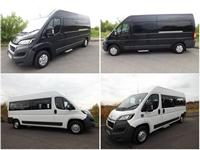 Build Your Own Euro 6 Peugeot Boxer 9 Seat Wheelchair Accessible Minibus Aircon