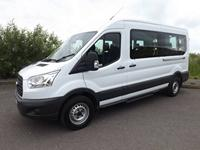 Ford Transit 15 Seat Minibus Leasing for School or Charity available in White and Silver