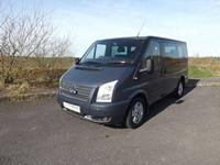 2013 Used Ford Tourneo Limited Edition 9 Seat Minibus with Front and Rear Air Conditioning