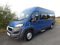 Peugeot Boxer Professional CanDrive Maxi 17 Seat School Minibus