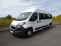 Peugeot Boxer 3 to 15 Seat Wheelchair Accessible Minibus