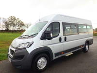 Peugeot Boxer CanDrive Maxi 17 Seat School Minibus For Sale with Free Reversing Sensors