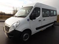 Vauxhall Movano 9 Seat Wheelchair Accessible Minibus For Sale with Internal Wheelchair Lift