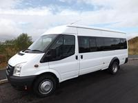 Ford Transit 17 Seat Lightweight Minibus For Sale Drive On A Car Licence