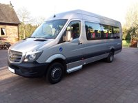 Mercedes Sprinter 17 Seat Wheelchair Accessible Minibus Automatic