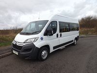 Citroen Relay 9 Seater Wheelchair Accessible Minibus For Sale with Twin Sliding Doors