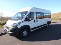 Peugeot Boxer 17 Seat CanDrive EasyOn Minibus For Sale with Underfloor Lift