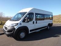 Peugeot Boxer 17 Seat CanDrive Easyon Wheelchair Accessible 17 Seat Minibus