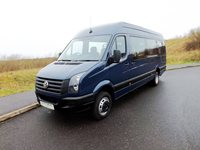 Volkswagen Crafter CR50 Wheelchair Accessible PSV Minibus in Blue For Sale with Tachograph