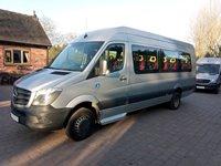 Mercedes Sprinter 17 Seat Wheelchair Accessible PSV Minibus