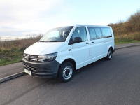 VW Transporter 9 Seat M1 Euro 6 ULEZ Compliant Wheelchair Accessible Minibuswith 6 Seats on Tracking and Options For Half Bulkhead System and Onboard Wheelchair Lift