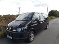 Volkswagen Transporter 9 Seater Euro 6 ULEZ Compliant M1 Wheelchair Accessible Minibus with 6 Seats on Tracking and Options For Half Bulkhead System and Onboard Wheelchair Lift