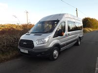 Ford Transit 17 Seat Euro 6 ULEZ Compliant PSV Minibus in Moondust Silver with Low Visibility Pack