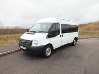 Ford Transit 14 Seat ULEZ Compliant Lightweight 3.5 Tonne Drive on Car Licence Minibus