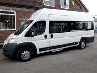 Citroen Relay 17 Seat CanDrive EasyOn Wheelchair Accessible Minibus with Underfloor Lift
