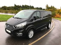 Ford Tourneo Custom Euro 6 ULEZ Compliant L2H1 LWB 9 Seat Minibus in Titanium Specification