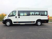 IVA Tested Peugeot Boxer CanDrive EasyOn 17 Seat Wheelchair Accessible Minibus with Onboard Lift and 4 Wheelchair Capacity