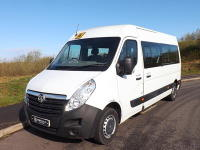 Vauxhall Movano Drive on Car Licence 17 Seat Lightweight Minibus ULEZ Compliant