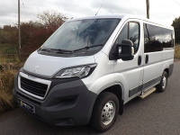 NO VAT Peugeot Boxer ULEZ M1 L1 H1 5 Seat Wheelchair Accessible Minibus with Air Con Cruise Control Webasto Heater and Wheelchair Lift