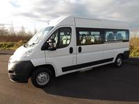 Peugeot Boxer Twin Door 9 Seat Wheelchair Minibus