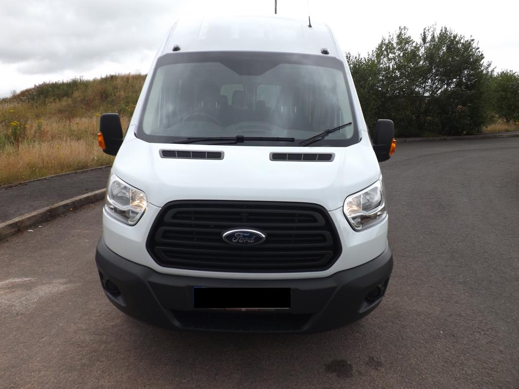brand new ford transit 17 seat school minibus leasing. Black Bedroom Furniture Sets. Home Design Ideas