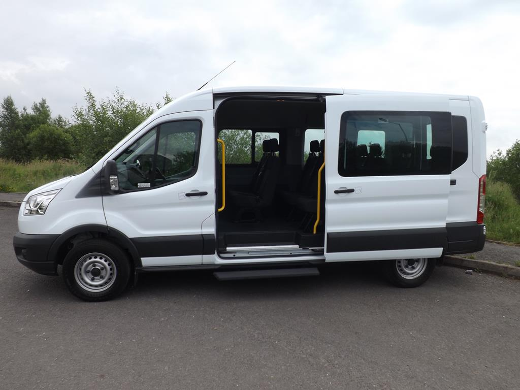 ford transit 15 seat minibus leasing for school or charity. Black Bedroom Furniture Sets. Home Design Ideas