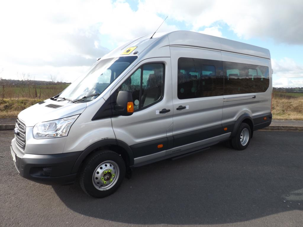 ford transit 17 seat wheelchair accessible minibus leasing. Black Bedroom Furniture Sets. Home Design Ideas