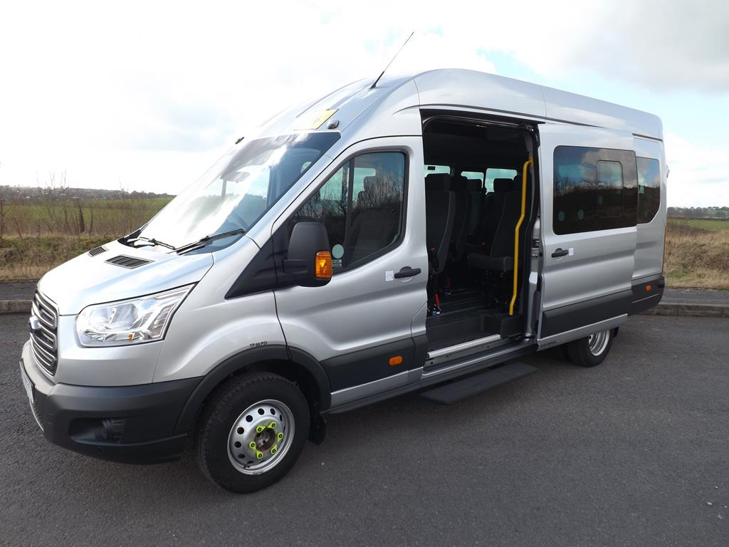 d1fa63e24c8b7a Ford Transit 17 Seat Wheelchair Accessible Minibus Leasing