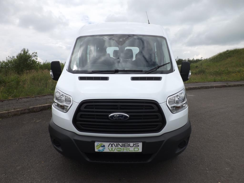 ford transit 15 seat d1 licence school minibus in white or. Black Bedroom Furniture Sets. Home Design Ideas