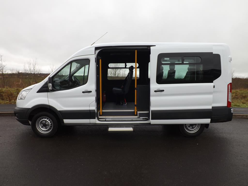 Ford transit lwb 9 seat wheelchair accessible minibus for sale for Handicap accessible mobile homes for sale