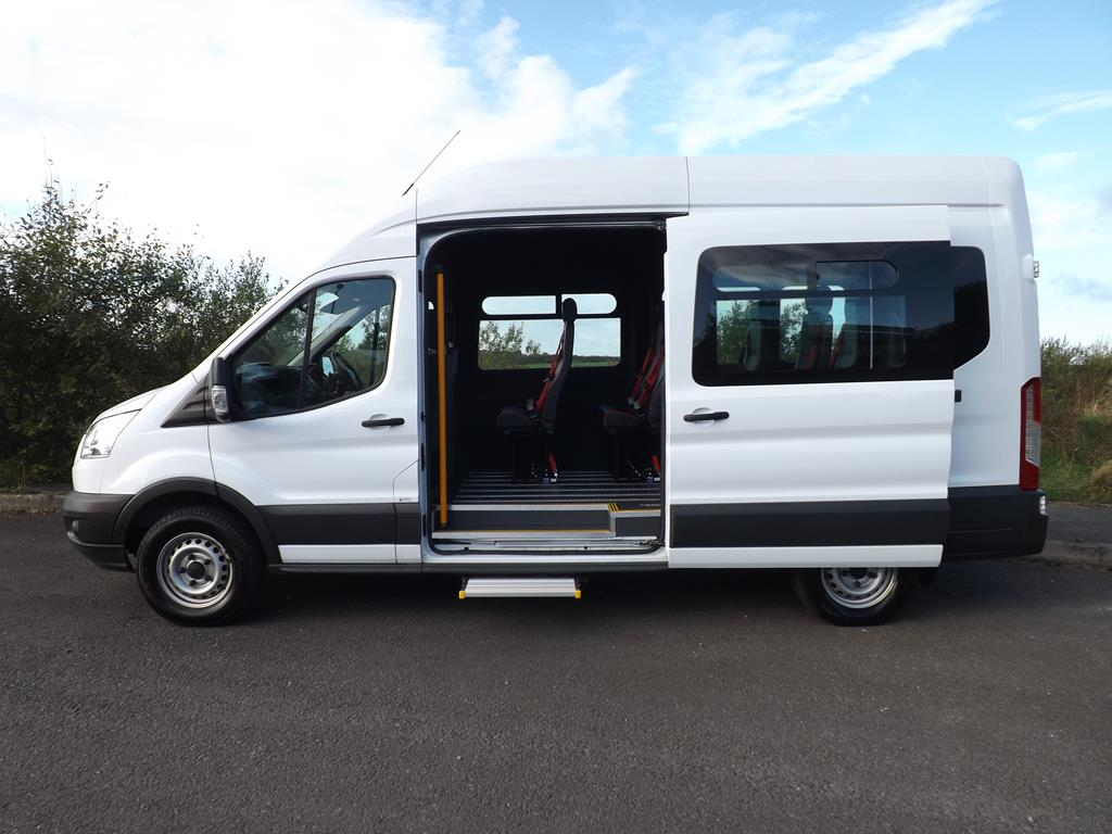 b7d5c009fe6bf0 Ford Transit LWB 3.5 Tonne 12 Seat Wheelchair Accessible Minibus For Sale