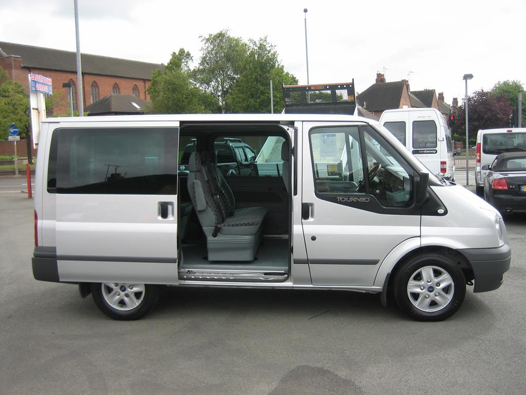 ford tourneo  seater minibus  front