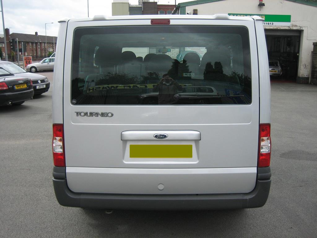 Used 2008 Ford Tourneo 9 Seater Minibus with Front and Rear Air