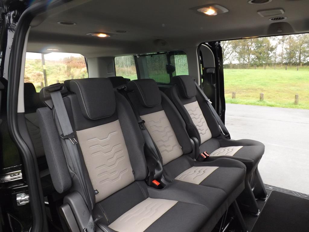 euro  ford tourneo custom lwb  seat titanium minibus  sale